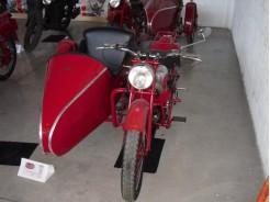 MOTO GUZZI - GTV SIDECAR SALTINI (1948)